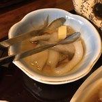 Gyoshouan - 【2018年05月】魚匠庵御膳、イカのバター焼き。
