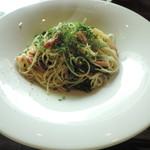 ボヌール - ランチの季節野菜のペペロンチーノ