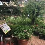 88713175 - ローズガーデンがお店の庭。