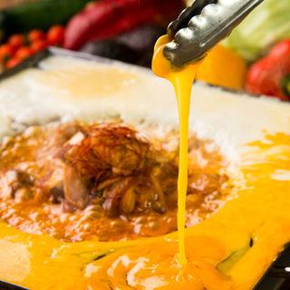 イタリアンチーズタッカルビが自慢♪とろーり濃厚チーズが美味