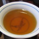はん亭 - ほうじ茶