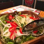 炭焼水七輪焼肉匠たじま - 特製サラダ
