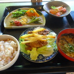 ごりやくカフェ 一乗庵 - 料理写真:本日のメニュー