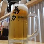 大衆居酒屋 馬力 - 生ビール