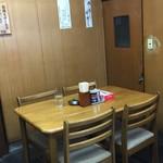 茶釜 - 茶釜 本店(福島県白河市本町)店内