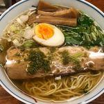 麺屋ひょっとこ - 和風柚子柳麵 730円。