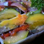 サントベヴィトーレ - 鮮魚のカルパッチョと野菜のテリーヌ