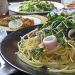 スパッツィオ フェリス - 大勢でワイワイ楽しくお食事していただけるメニューを3500円~用意しております。