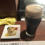 経堂らかん茶屋 - 黒ビール