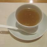 小満津 - 「うなぎの蒸し汁のスープ」
