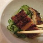 小満津 - 地焼きの鰻と胡瓜を三杯酢で