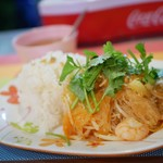 カジュアル タイ料理 カオサンカァ - タイ米も美味しい♪