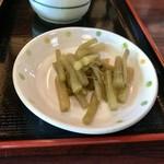 木草庵 - ふきの煮物