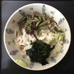 88729435 - 冷し山菜うどん ¥430