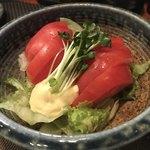 鶏料理・焼きとり 纜 - 冷しトマト