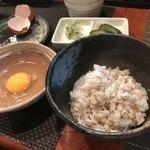 鶏料理・焼きとり 纜 - 卵かけご飯