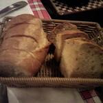 ル・マルカッサン - バゲットとくるみパン
