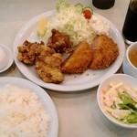 菊屋食堂 - A定食 950円