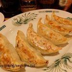 日高屋 - 餃子 6個1皿