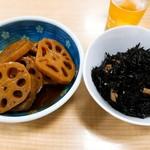 動坂食堂 - れんこんきんぴら・ひじき煮