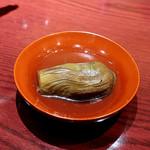 三合菴 - 水茄子の包丁に溜息