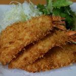 漣 - 料理写真:海老フライ定食 2484円