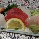 魚屋スタンドふじ子 - 魚盛り♪