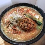 創作麺処 麺ソウル ラボ - 6月限定「赤鬼!!ハバネロ味噌らーめん」