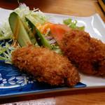 寿司・御食事処 敏 - 牡蠣フライ
