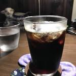 自家焙煎コーヒーcafe・すいらて - 自家焙煎ネルドリップのアイスコーヒー(2018.7.5)