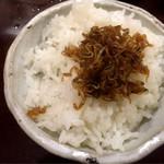 魚山人 - ご飯