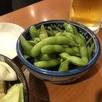 もつ千 - わさび風味の枝豆
