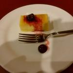 マジックレストラン&バーGIOIA 銀座 - スフレチーズケーキ