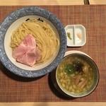 セアブラノ神 - (7月限定)鶏せせりつけ麺(並)200g 900円
