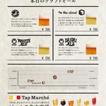 旬のクラフトビール各種