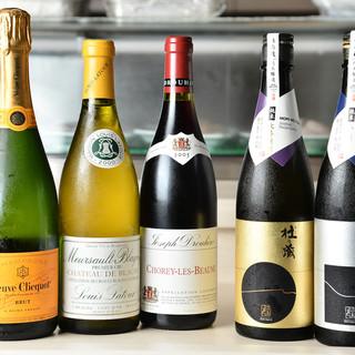 ◇日本酒・焼酎・ワイン◇魚に合うお酒、季節のお酒あり〼
