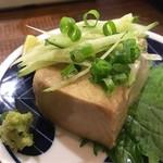 酒場むゆう - 蟹味噌豆腐(病みつきになる濃厚クリーミーさ!当然おかわり)