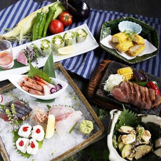 旬の食材を楽しめる、夏フェア開催中◎