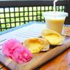カフェ&ピッツァレストラン スターダストガーデン - 料理写真:マラサダ・マンゴーセット