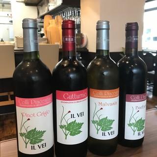 ワイン好きなシェフが厳選する『自然派ワイン』