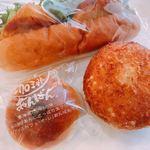 エスプラン - 料理写真:♦︎珈琲あんぱん 210円 ♦︎黄金カレーパン 200円 ♦︎ホワイトフィッシュコッペ 283円