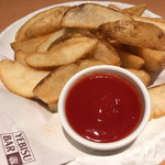 ヱビスバー - フライドポテト、とても美味しい