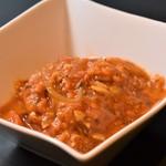 冷たいトマトカレー
