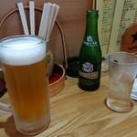 居酒屋寅っこ - ビールとジンジャーエール