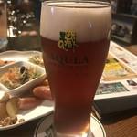 ビアカフェあくら - 古代米アンバー!