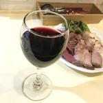 肉屋のイタリア酒場 Mario - 赤ワイン(500円)
