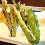 母ちゃんの店 わがや - 定食の天ぷら!