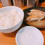 麺ダイニング 福 - ♦︎餃子セット 300円       ごはん付き!