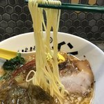 パパパパパイン - 【2018.6.26】三河屋製麺の加水率高めの細麺。