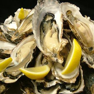 厚岸産の生牡蠣
